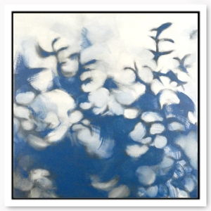 Blue Shadows painting